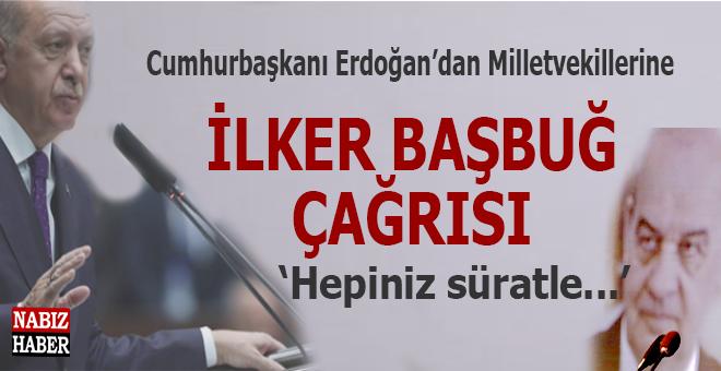 """Erdoğan'dan İlker Başbuğ'a """"Bu, boru göstermeye benzemez..."""""""