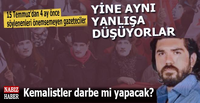 """Rasim Ozan Kütahyalı: """"Kemalistler darbe mi yapacak?"""""""