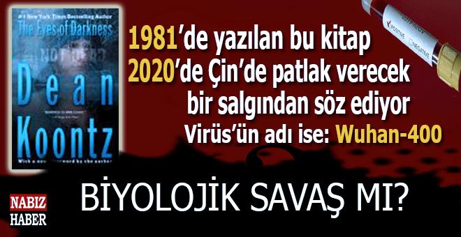 Koronavirüs gerçeği; 1981'de yazılan kitapta Çin'de patlak verecek salgından söz ediliyor!