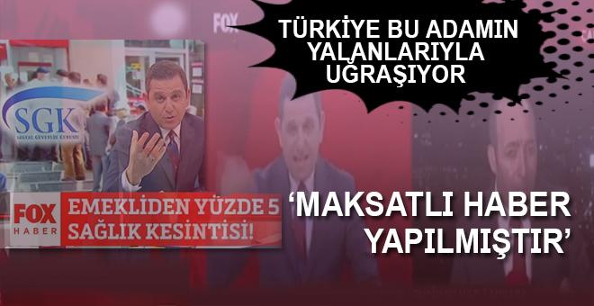 """Türkiye bu adamın yalan haberlerini """"yalanlamakla"""" meşgul!"""