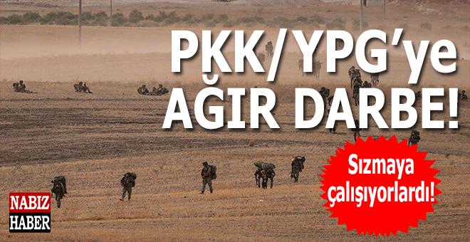 PKK/YPG'ye ağır darbe; 32 terörist etkisiz hale getirildi!