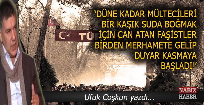 """Ufuk Coşkun: """"Bu faşistlerin tek endişesi var; O da Türkiye'nin bölgede söz sahibi olmak istemesidir!"""""""