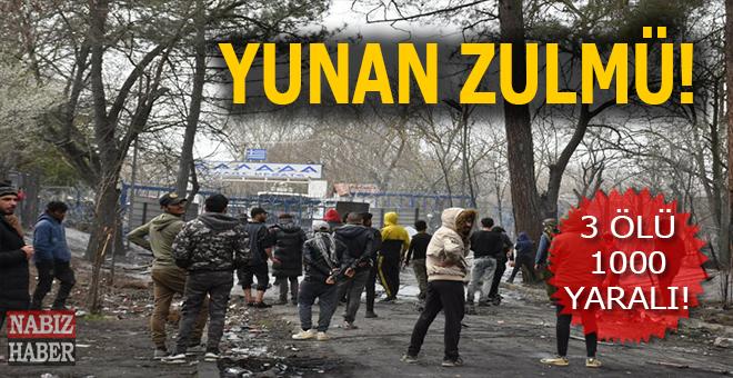 Yunanistan'ın mültecilere karşı insanlık dışı tutumu sürüyor!