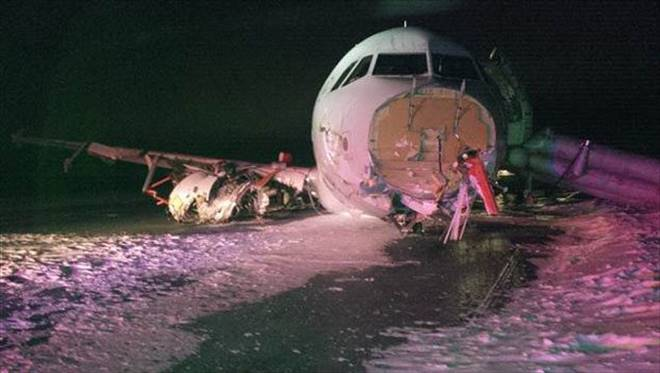 Bu da Air Canada uçağı!