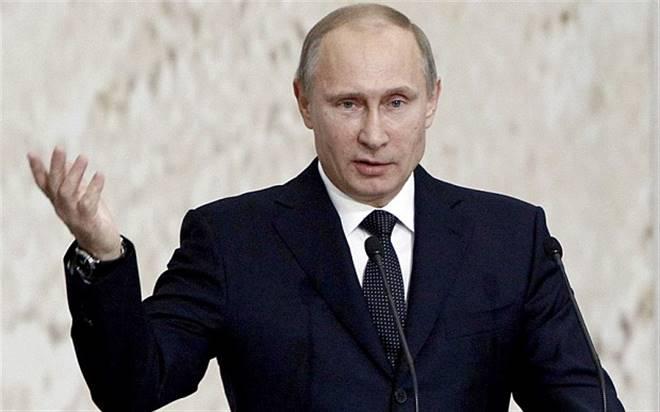 """Putin: """"Ben yaptım!"""""""