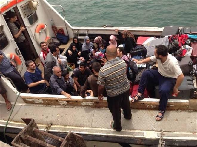 55 kişi tahliye edildi