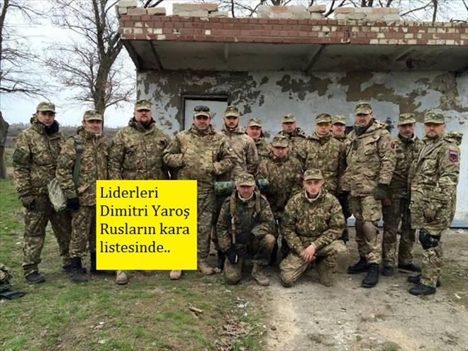 Ukrayna Ordusuna Katılıyorlar