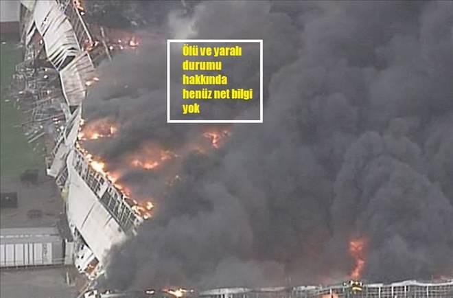 ABD`de elektrik santralinde yangın!