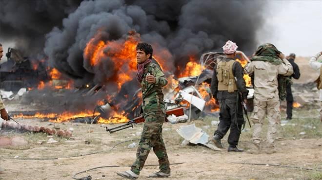 Şii milisler Tikrit`i yağmalıyor