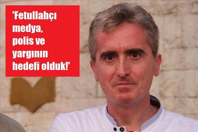 """Gazeteci Burak Çileli: """"Fetullahçı medya-polis ve yargıya hedef olduk!"""""""