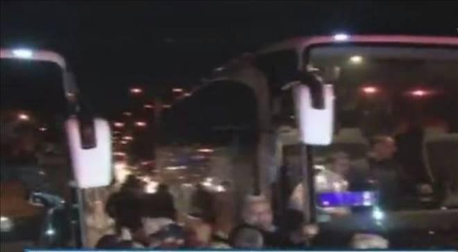 Son dakika: Fenerbahçe Otobüsü`ne Silahlı Saldırı!