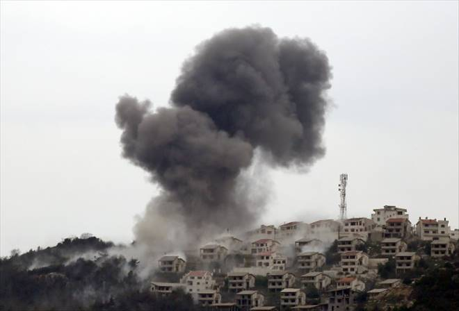 Türkmen köyleri bombalandı