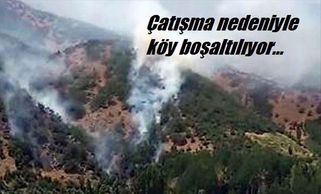 Çatışma! Köy boşaltılıyor