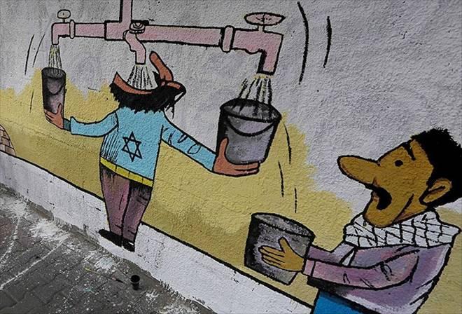 Su kaynaklarının kontrolü İsrail`de