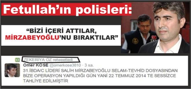 """""""Bizi içeri attıkları gün Mirzabeyoğlu`nu bıraktılar"""""""