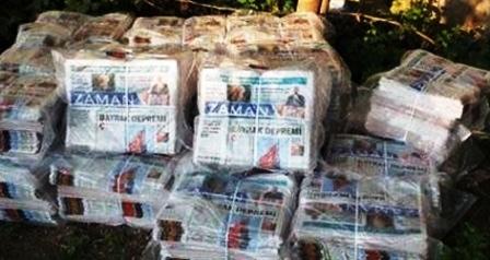 Zaman'ı, PKK'ya  destek olmak için Doğu'da bedava dağıtıyorlar!