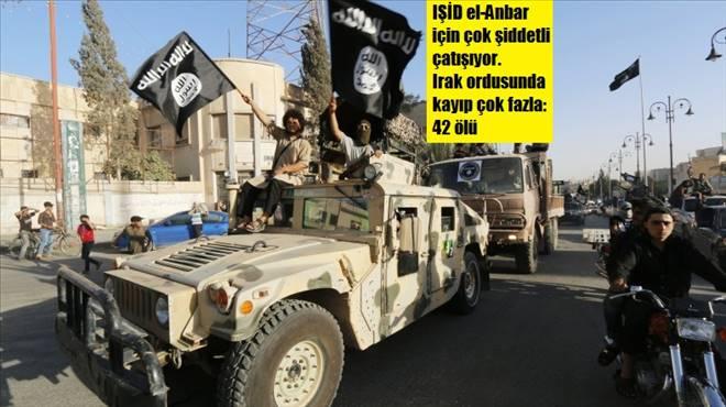 IŞİD el-Anbar`ı vermiyor