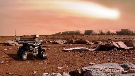Kızıl Gezegen Mars'ta su bulundu