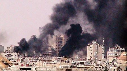 Esed güçlerinin hava saldırısında: 32 ölü 200 yaralı