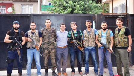 Bu mücadele iman ordusu TSK ve emniyetin, küfür ordusu PKK'yla hak-batıl mücadelesidir!