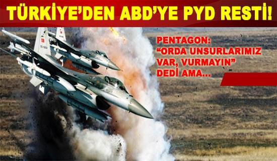 Türkiye ile ABD arasında tarihi restleşme!