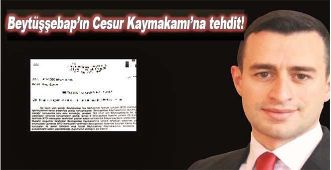 Kadir Güntepe'ye suikast tehdidi