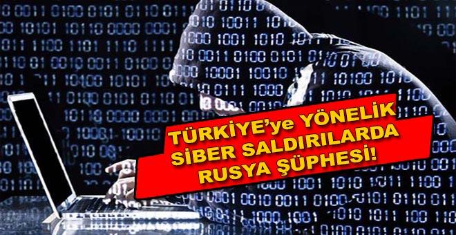 Türkiye'ye yönelik siber saldırılarda Rusya şüphesi?