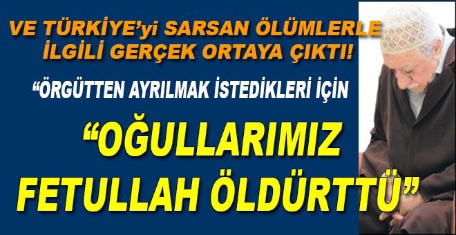 """Türkiye'yi sarsan açıklama; """"Çocuklarımızı FETÖ öldürdü!"""""""