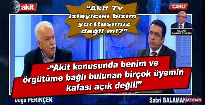 Perinçek; Akit TV canlı yayınına çıkmasıyla ilgili gelen eleştirilere cevab verdi!