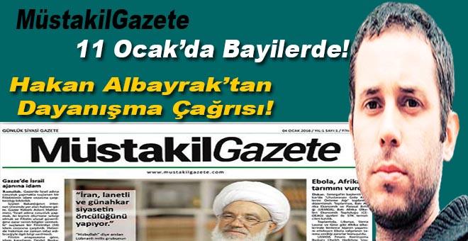 Müstakil Gazete 11 Ocak'ta bayilerde!