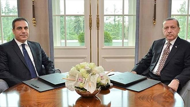 Son dakika: Cumhurbaşkanı MİT Müsteşarı ile görüştü