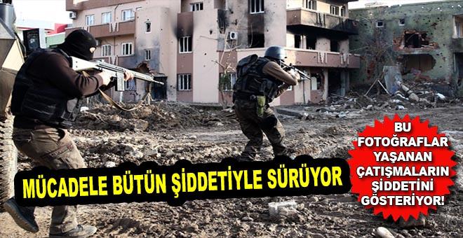 Çatışmalardan sonra ortaya çıkan bu fotoğraflar yaşanların şiddetini gösteriyor!