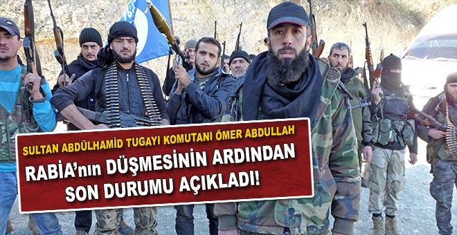 Türkmen komutan son durumu açıkladı!