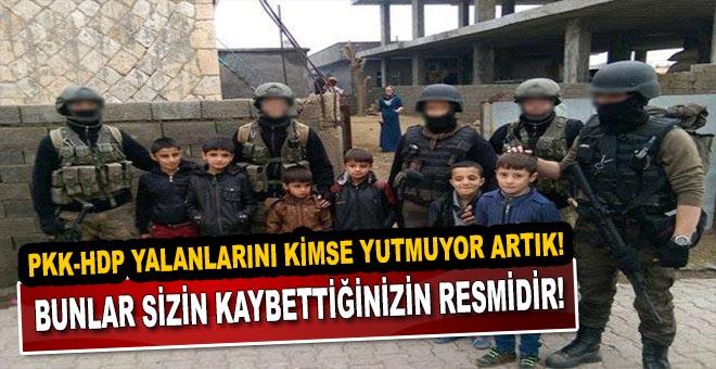 PKK-HDP yalanları ve Silopi gerçekleri; Bunlar sizin kaybettiğinizin resmidir!