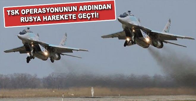 TSK'nın PYD operasyonunun ardından Rusya harekete geçti