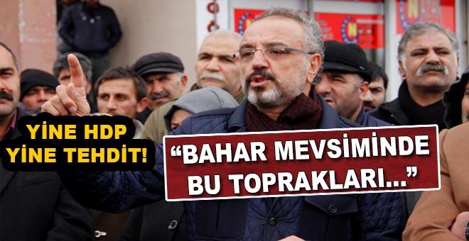 Yine HDP, yine tehdit!