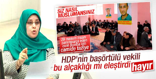 """Kafa """"türban"""", ağız; """"PKK""""; bir """"meccani"""" üretim hatası daha!"""