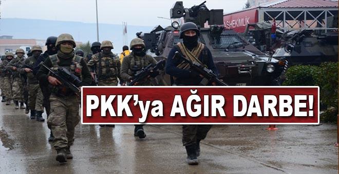PKK'ya ağır darbe! İşte bilanço