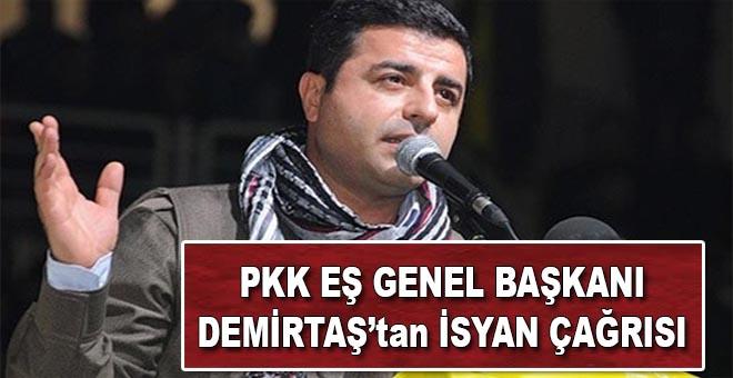 PKK Eşbaşkanından isyan çağrısı!