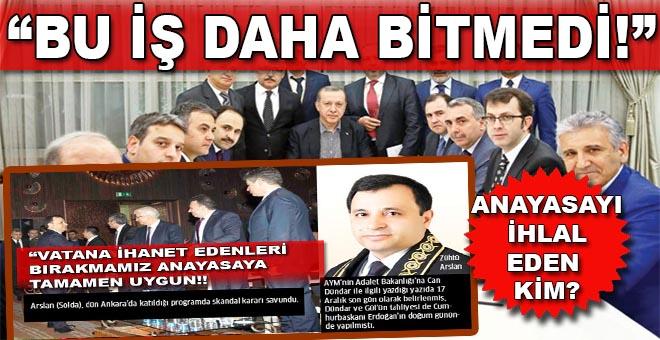 Cumhurbaşkanı Erdoğan: Anayasa'yı göz göre ihlal ettiler!