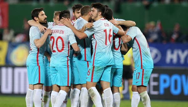 Mili Takım seriyi bozmadı; Avusturya 1 - 2 Türkiye