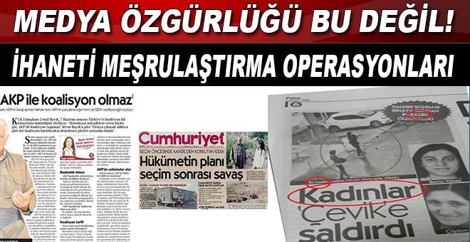 """Türkiye'de medya, """"vatana ihanet etmeyi"""" meşru gösterecek kadar özgür!"""