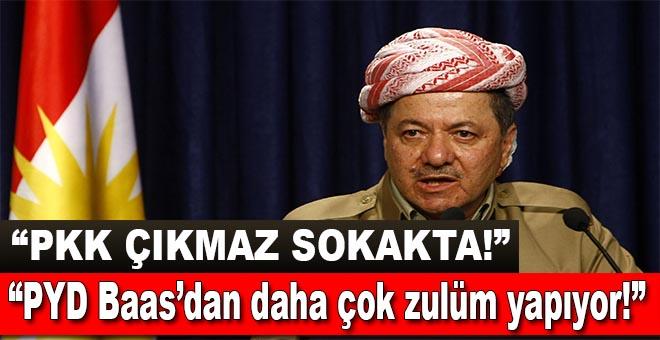 Barzani: PKK çıkmaz sokakta