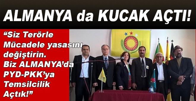 PYD-PKK Berlin'de temsilcilik açtı!