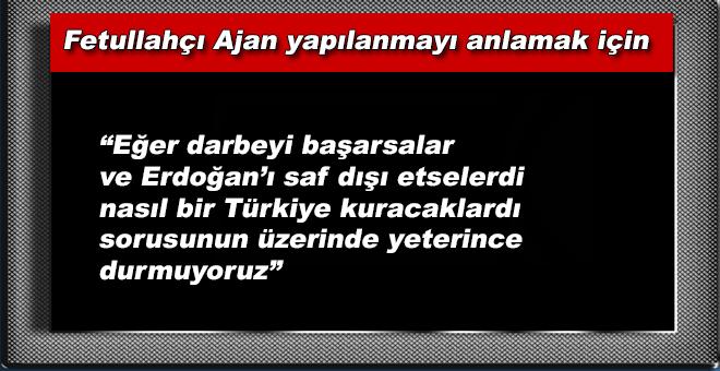 """""""Onların arkasındaki güç yalnız Türkiye'de değil; bütün dünyada yeni bir düzen istiyor!"""""""