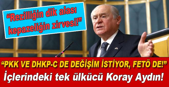 """Bahçeli; PKK ve DHKP-C de """"değişim"""" istiyor!"""