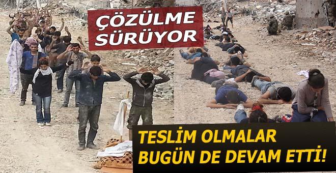 Çözülme sürüyor; bugün de onlarca PKK'lı teslim oldu!