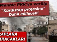 Menbiç kuşatması; Şehir, PKK'ya teslim edilecek!
