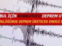 İstanbul için korkutan deprem uyarısı!