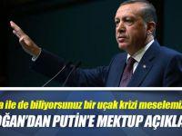Cumhurbaşkanı Erdoğan'dan Putin'e mektup açıklaması